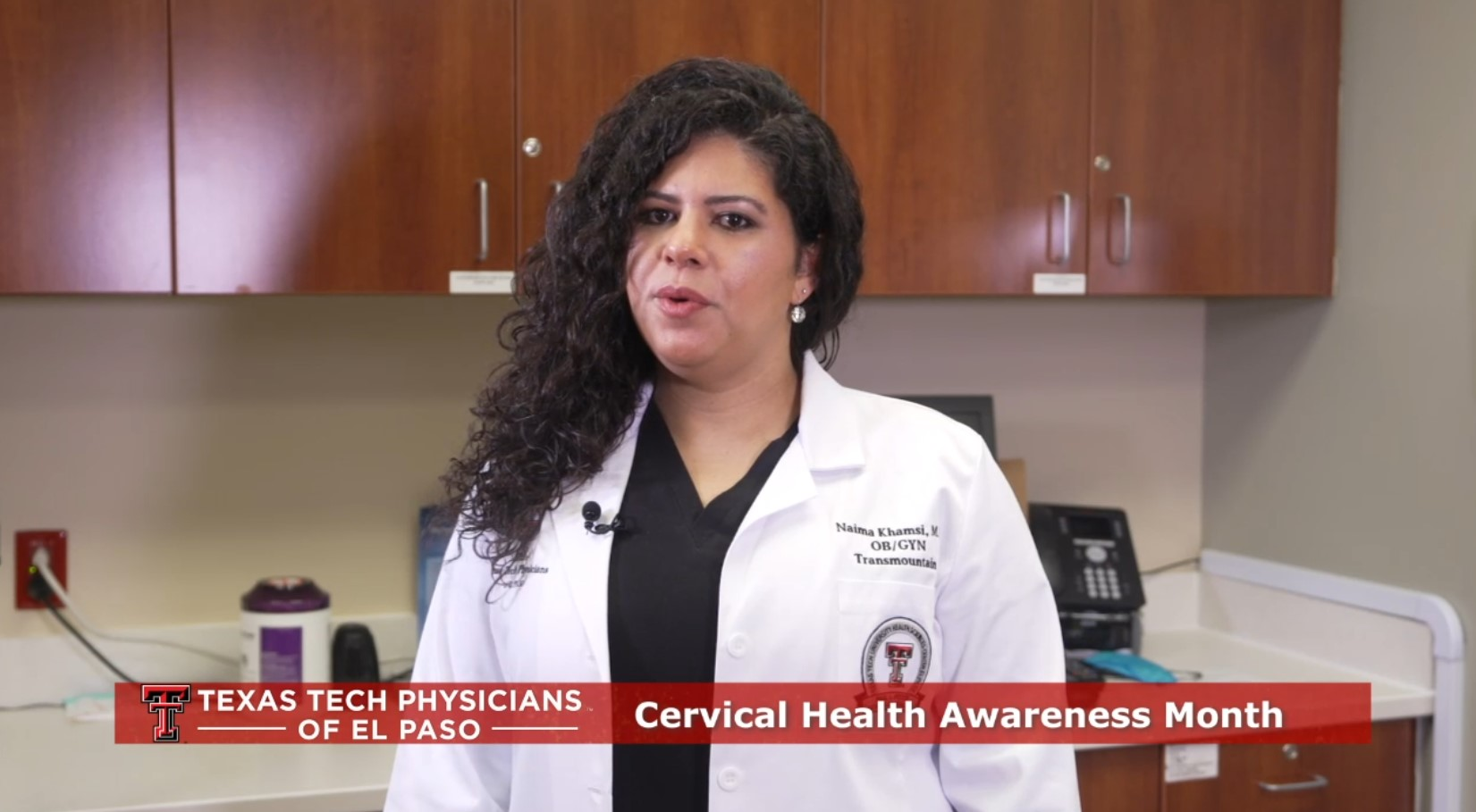 Cervical Cancer Awareness Month video